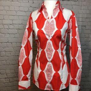 Harold's Button Down Pattern Blouse